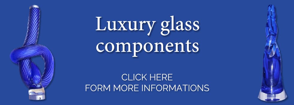 Luxury glass components